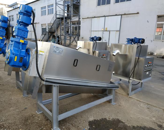 叠螺式污泥脱水机起源发展!